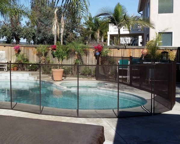 removable pool fence Carson ca