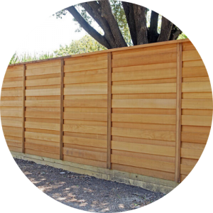 wood privacy fence Carson california